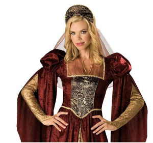 Renaissance Maiden Adult Costume picture image