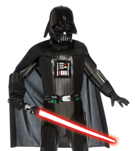 Darth Vader Halloween Costume for Frollo picture image