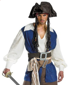 Jack Sparrow, Halloween Costume for Clopin  picture image