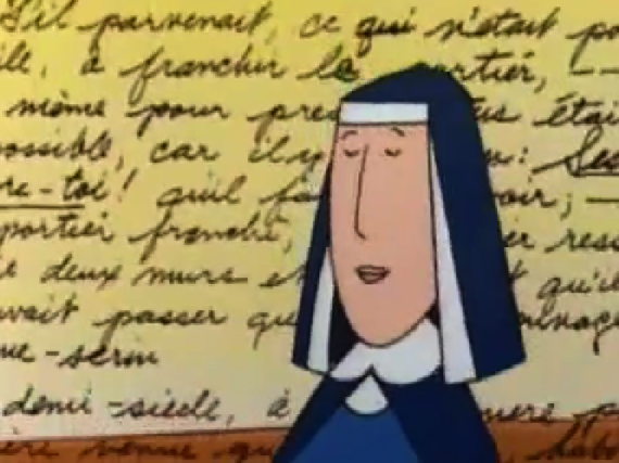 Ms Cavell and a French Poem, Madeline and the Hunchback of Notre Dame  Song picture image