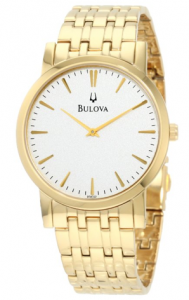 Bulova Men's  Dress Classic Goldtone Watch phoebus picture image
