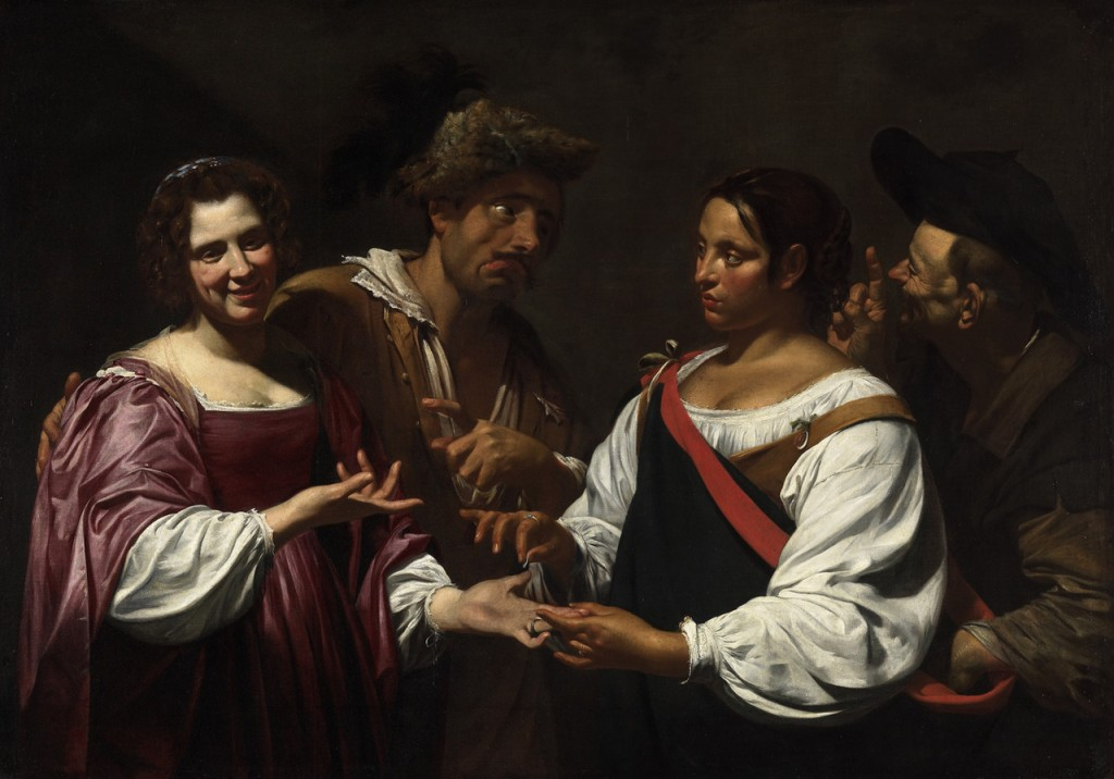 The Fortune Teller by Vouet picture image