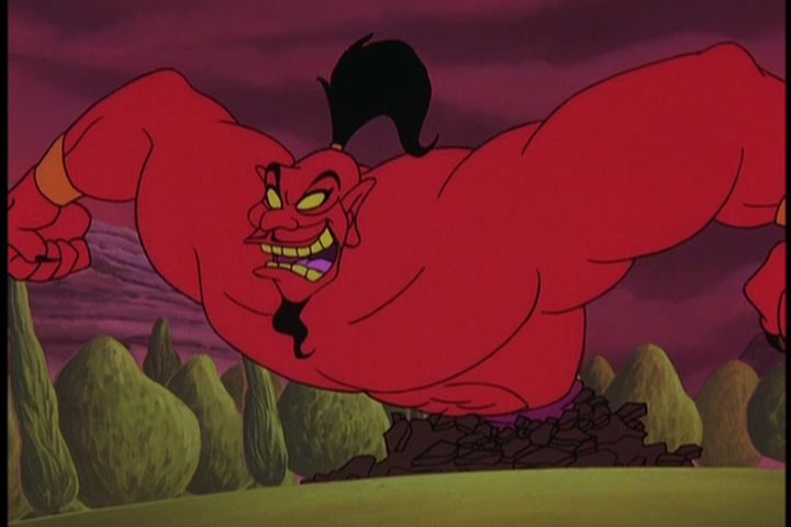Genie-form Jafar, The Return of Jafar picture image