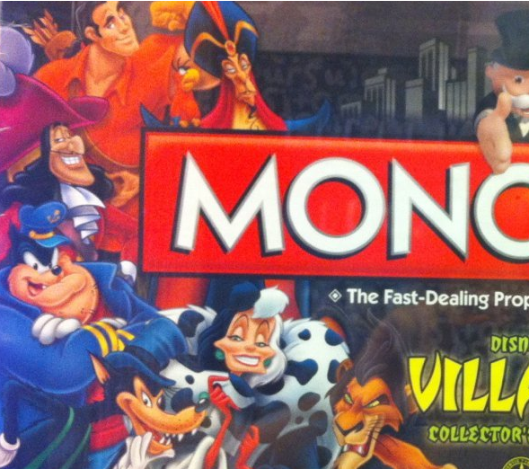 Disney Villain Monopoly Box picture image