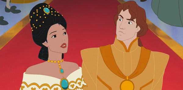 Pocahontas and Rolfe, Pocahontas II: Journey to a New World picture image