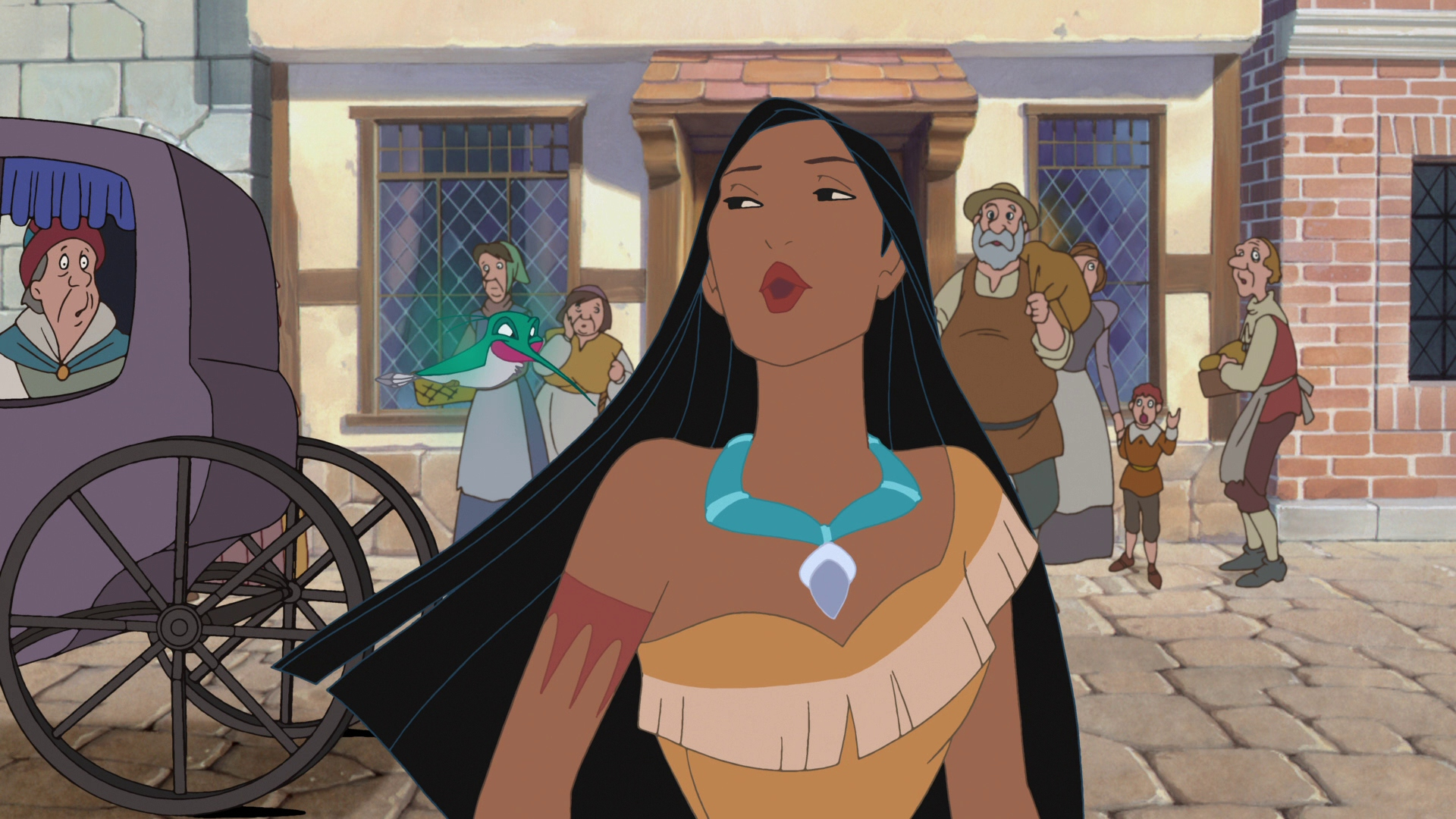 Pocahontas II: Journey to a New World; Pocahontas gets a Princess ...