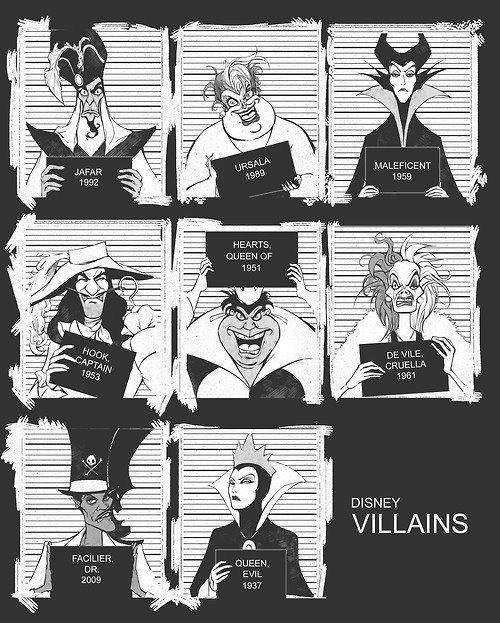 Disney Villains picture image