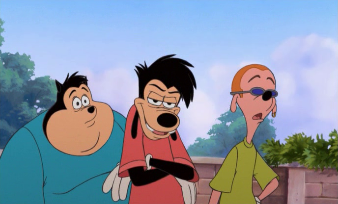 Pete, Max and Pauly Shore errm Bob , An Extremely Goofy Movie picture image