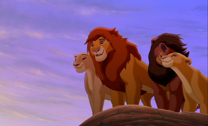 Nala, Simba, Kovu and Kiara, The Lion King 2: Simba's Pride picture image