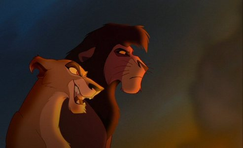 Zira and Kouv, The Lion King 2: Simba's Pride picture image