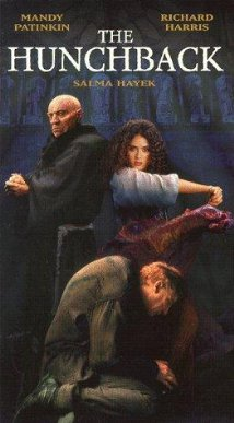 1997 The hunchback Richard harris, frollo, Quasimodo, Mandy Patinkin, Salma Hayek, Esmeralda, picture image