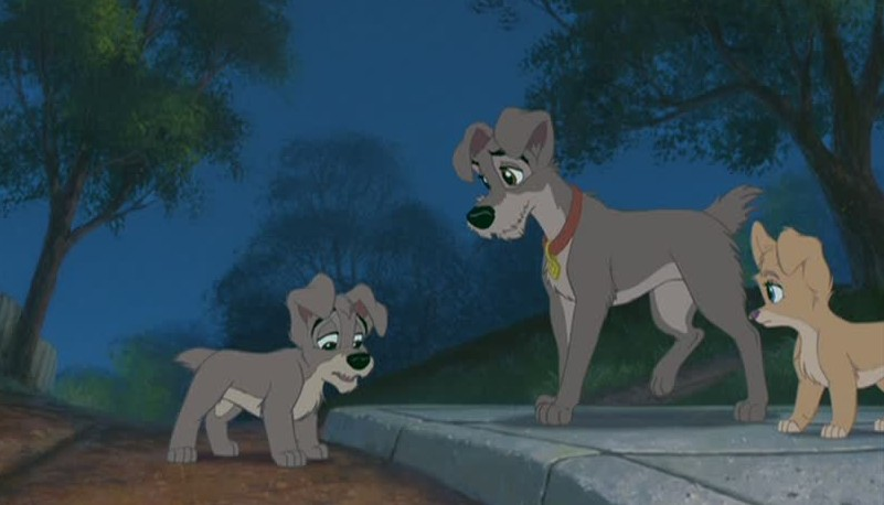 Scamp and Tramp Lady and the Tramp II: Scamp's Adventure picture image