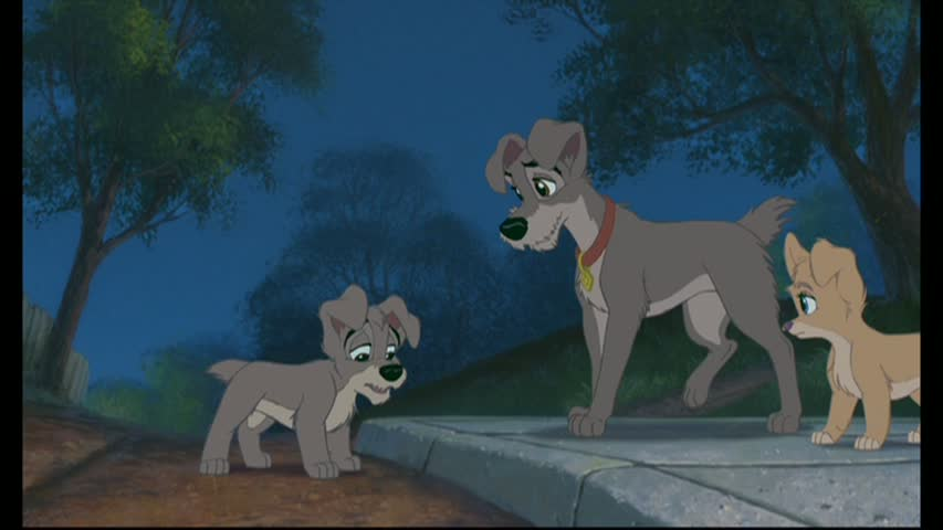 Lady and the Tramp II: Scamp\'s Adventure Review; Lady is a hands-off ...