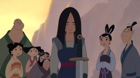 Mulan with Chien-po, Su, Mei, Yao, Ting Ting and Ling Mulan II picture image