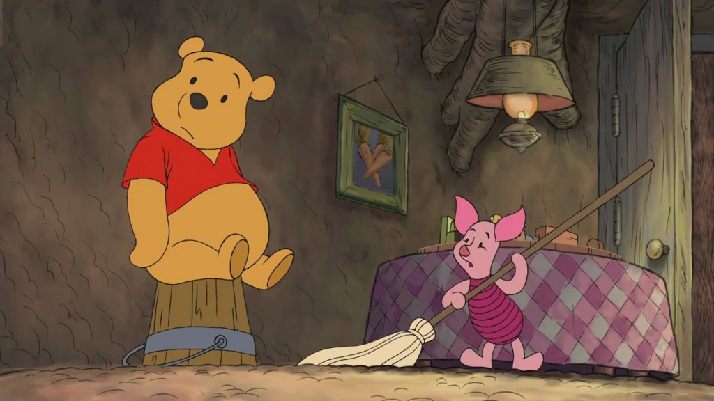Pooh and Piglet, Winnie the Pooh Springtime with Roo  picture image