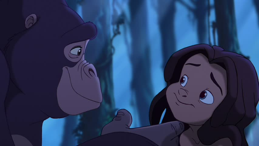 Kala and Tarzan Tarzan II picture image