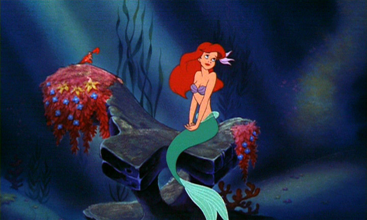 Ariel's Fin The Little Mermaid picture image