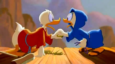 Donald Duck  and Daisy Duck  Fantasia 2000 picture image