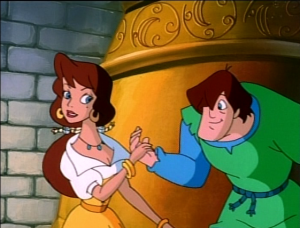 Melody and Quasimodo Enchanted Tales Hunchback of Notre Dame picture image