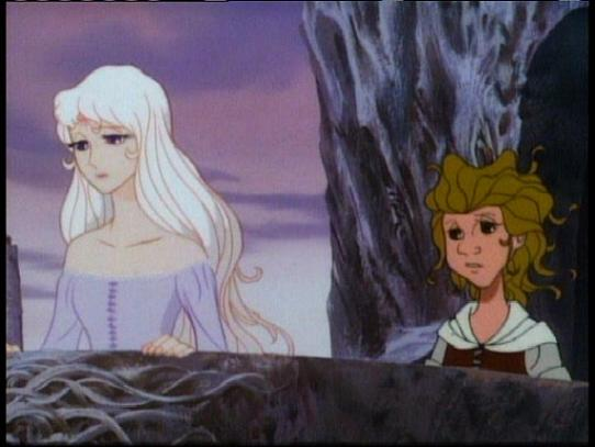 Lady Amalthea and Molly Grue The Last Unicorn picture image