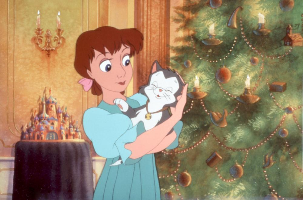 Clara with her kitten, Pavola The Nutcracker Prince picture image
