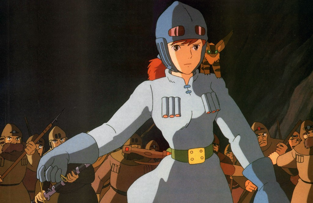 Nausicaa using an insect charm Nausicaa of the Valley of the Wind picture image