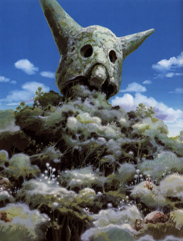 Old Giant Warrior Ruin   Nausicaa of the Valley of the Wind picture image