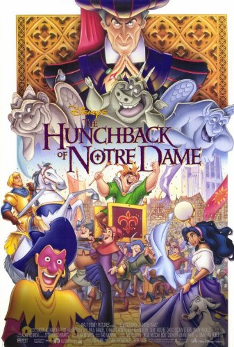 Disney Hunchback of Notre Dame Poster picture image
