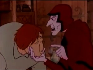 Quasimodo and Frollo 1986 Hunchback Notre Dame  picture image