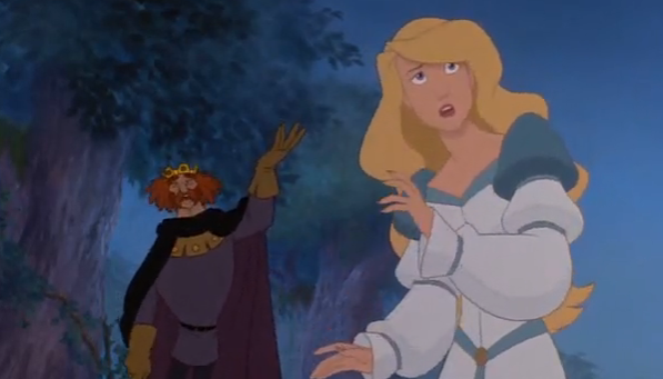 the swan princess odette s wedding gown is same as rothbart s