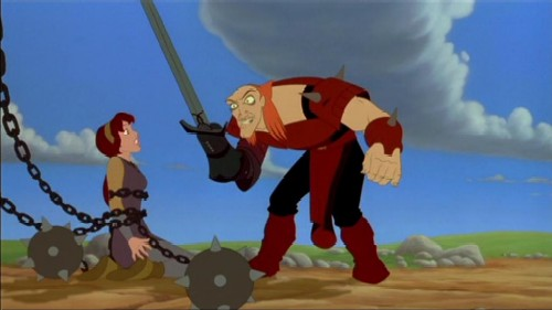 Ruber and Kayley Quest For Camelot picture image