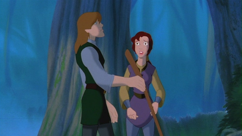 Kayley and Garrett Quest For Camelot picture image