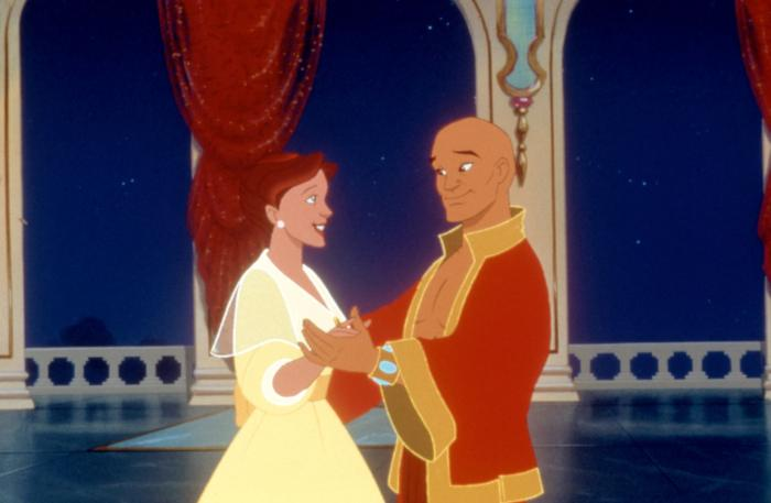 Anna and the King about to get their dance on The King and I Picture image