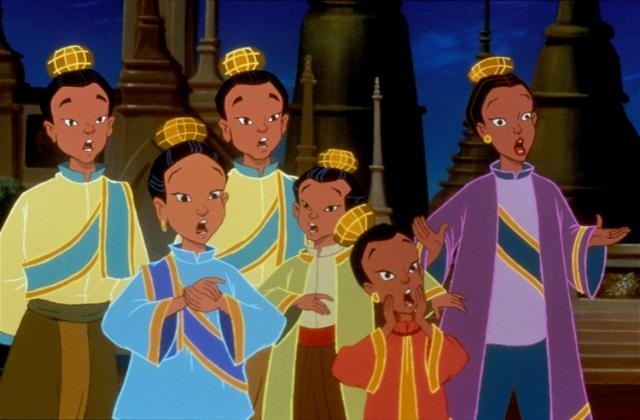 The King's kids The King and I Picture image