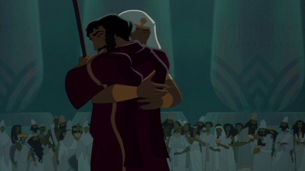 Moses and Ramses The Prince of Egypt Picture image