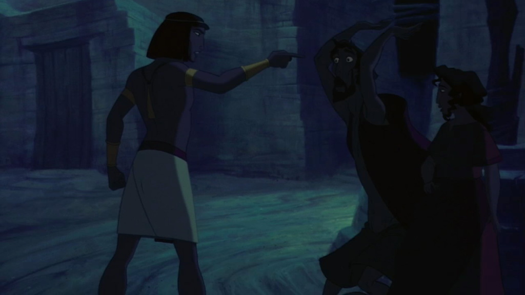 Moses with Miriam and AaronThe Prince of Egypt Picture image