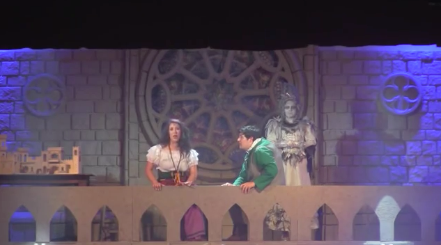 Esmeralda,  Quasimodo, and Laverne King's  Academy Hunchback of Notre Dame picture image