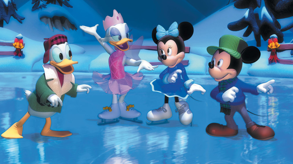 Donald, Daisy, Minnie and Mickey  Mickey's Twice Upon A Christmas  picture image