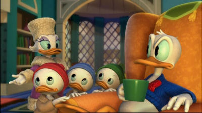 Daisy, Huey, Dewy, Louie and Donald Mickey's Twice Upon A Christmas  picture image