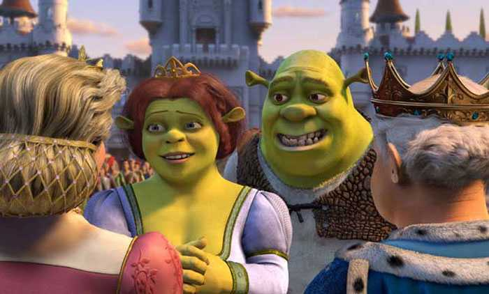 Shrek meeting Fiona's parents Shrek 2  picture image