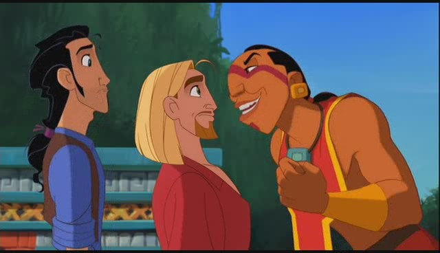 Tulio, Miguel, and Tzekel-Kan The Road to El Dorado picture image