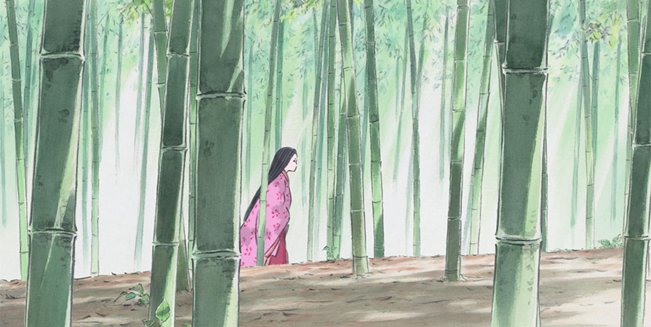 Kaguya is the bamboo grove The Tale of the Princess Kaguya picture image