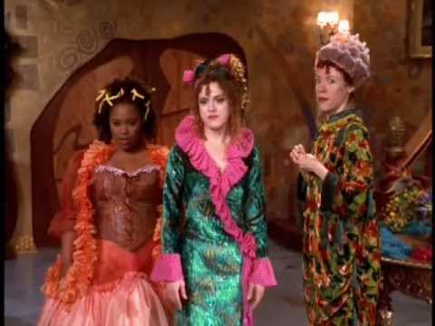 Bernadette Peters as the Stepmother with Veanne Cox and Natalie Desselle Reid as Stepsisters Calliope and Minerva 1997 Cinderella picture image