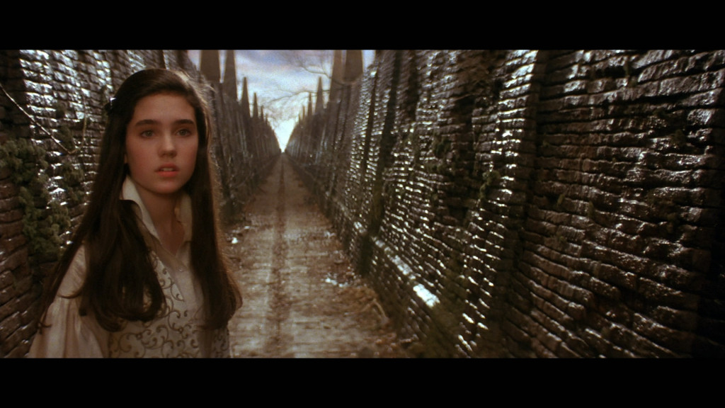 Sarah entering the Labyrinth jennifer connelly Labyrinth picture image