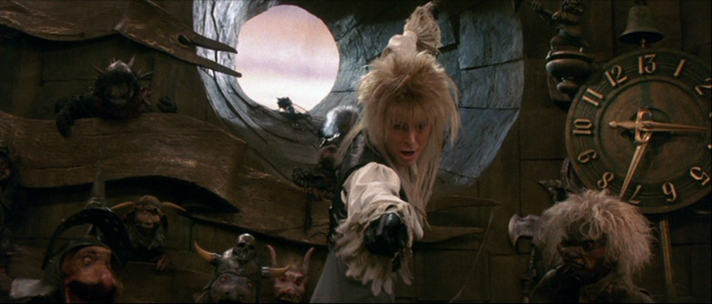 Jareth singing Dance Magic David Bowie Labyrinth picture image