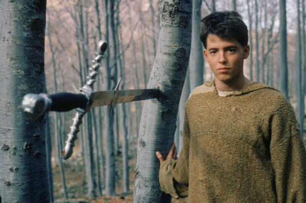 "Matthew Broderick as Philippe ""The Mouse"" Gaston Ladyhawke picture image"
