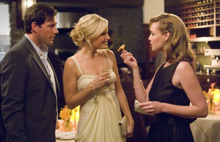 Katherine Heigl as Jane with Malin Åkerman as Tess and Edward Burns as George 27 Dresses picture image