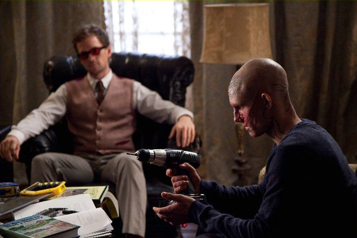 Alex Pettyfer as Hunter/Kyle  with Neal Patrick Harris as Wll  the blind tutor Beastly picture image