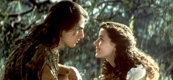 Mia Sara as Lili and Tom Cruise as Jack Lily Legend picture image