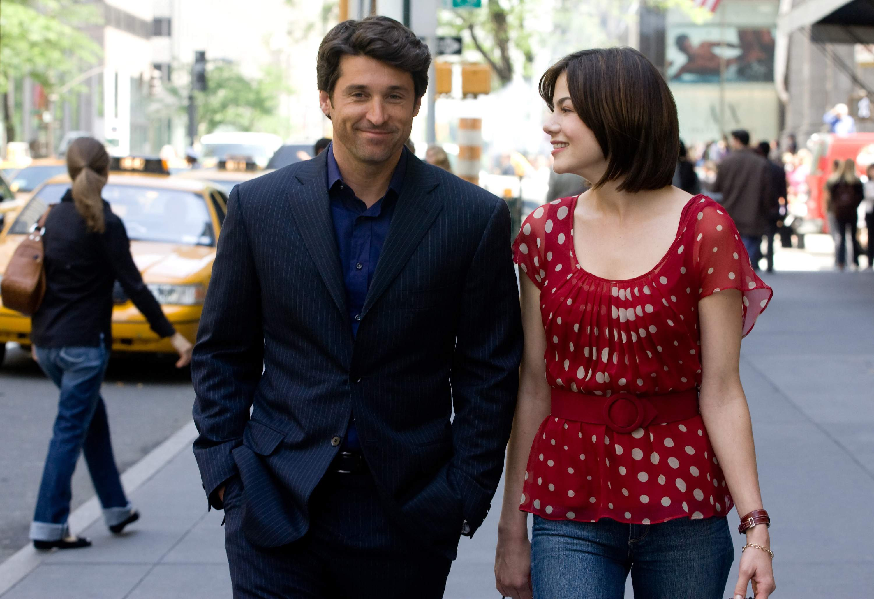 Hannah Michelle Monaghan and Tom Patrick Dempsey Made of Honor picture image